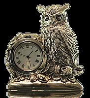Часы с фигурой совы