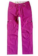Легкие брюки-бриджи для девочки; 134, 152 размер