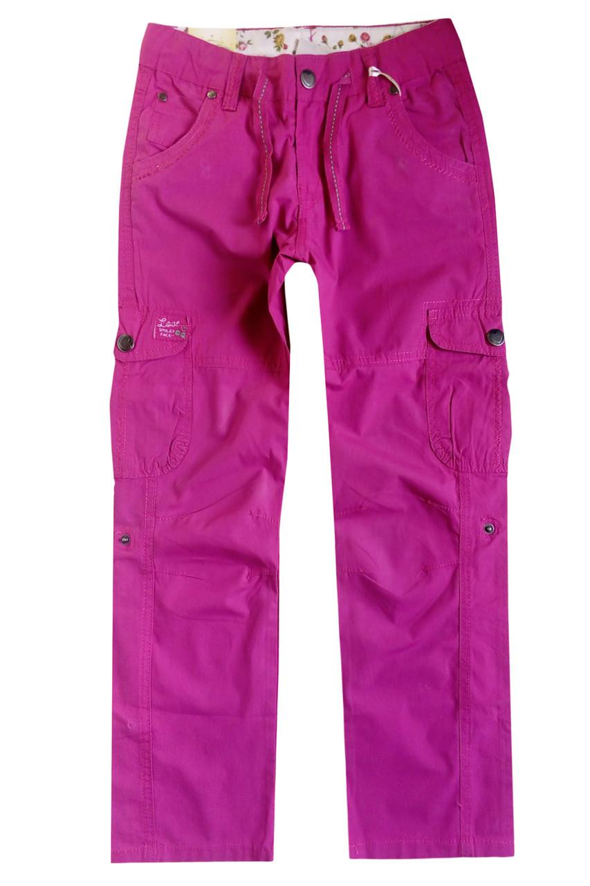 Легкие брюки-бриджи для девочки; 134, 152 размер - Интернет-магазин детской одежды и игрушек Kids-Point в Киеве