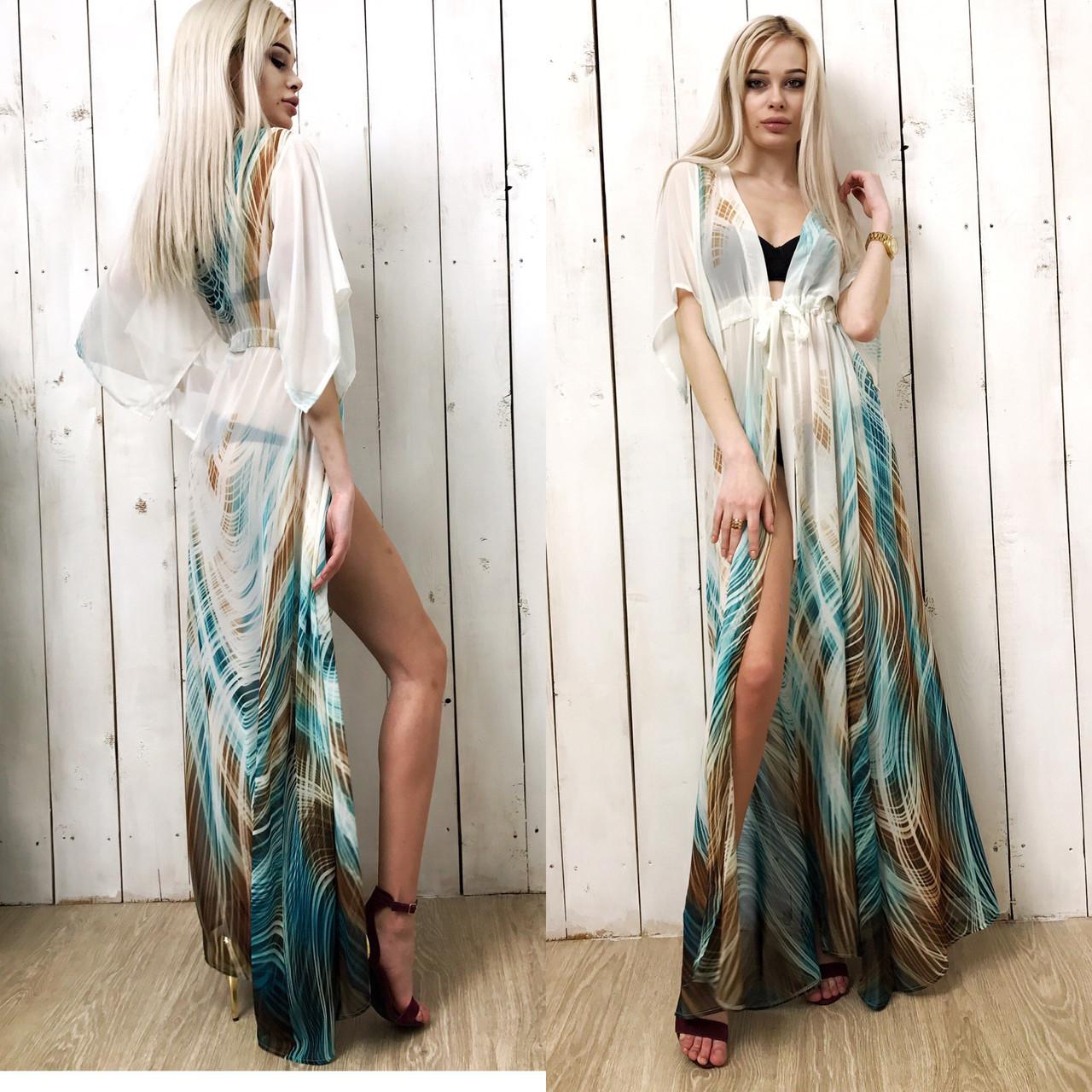 5e4ca305d8aeff5 Длинное парео женское свободное, цена 390 грн., купить в Одессе ...