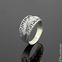 Женское серебряное Кольцо Дионис