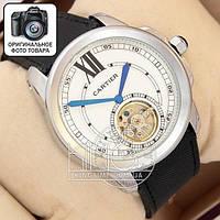 Часы Cartier Tourbilon silver/white