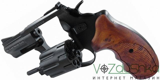 револьвер флобера stalker s 2,5 wood с откинутым барабаном