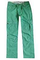 Легкие брюки-бриджи для девочки; 140, 164 размер