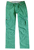 Легкие брюки-бриджи для девочки; 140, 164 размер, фото 1