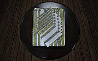 Скатерть с салфетками зеленая (230*140)