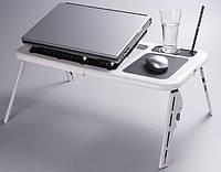 Подставка Столик для ноутбука Охлаждающая E-Table LD09  2 Кулера  Акция !!!