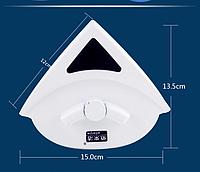 Магнитная щетка для мытья окон с двух сторон 24-40 мм