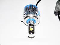 БиКсенон светодиодный Led Н4 6000к 40W