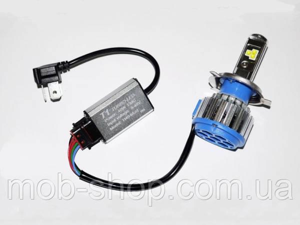 БиКсенон светодиодный Xenon Led Н4 6000к 40W