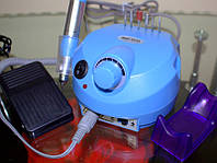 Фрезер для маникюра и педикюра  Nail Polisher Корея ZS-603 35 Вт, на 35000 об, голубой