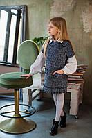 Платье из твида Росса  рост 98-140