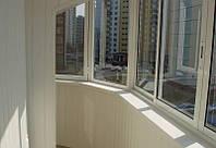 Окна на лоджию 4200м Rehau'70,эркер