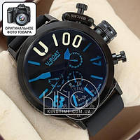Часы U-boat Italo Fontana U-1001 black/black/blue