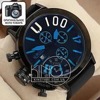 Часы U-boat Italo Fontana U-1008 black/black/blue