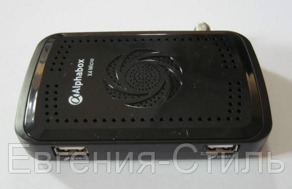 Спутниковый ресивер HD Alphabox X4 MICRO. Прошитый