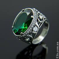 Женское серебряное Кольцо Императрица