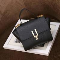 Маленькая женская сумка в стиле Celine Mini черная