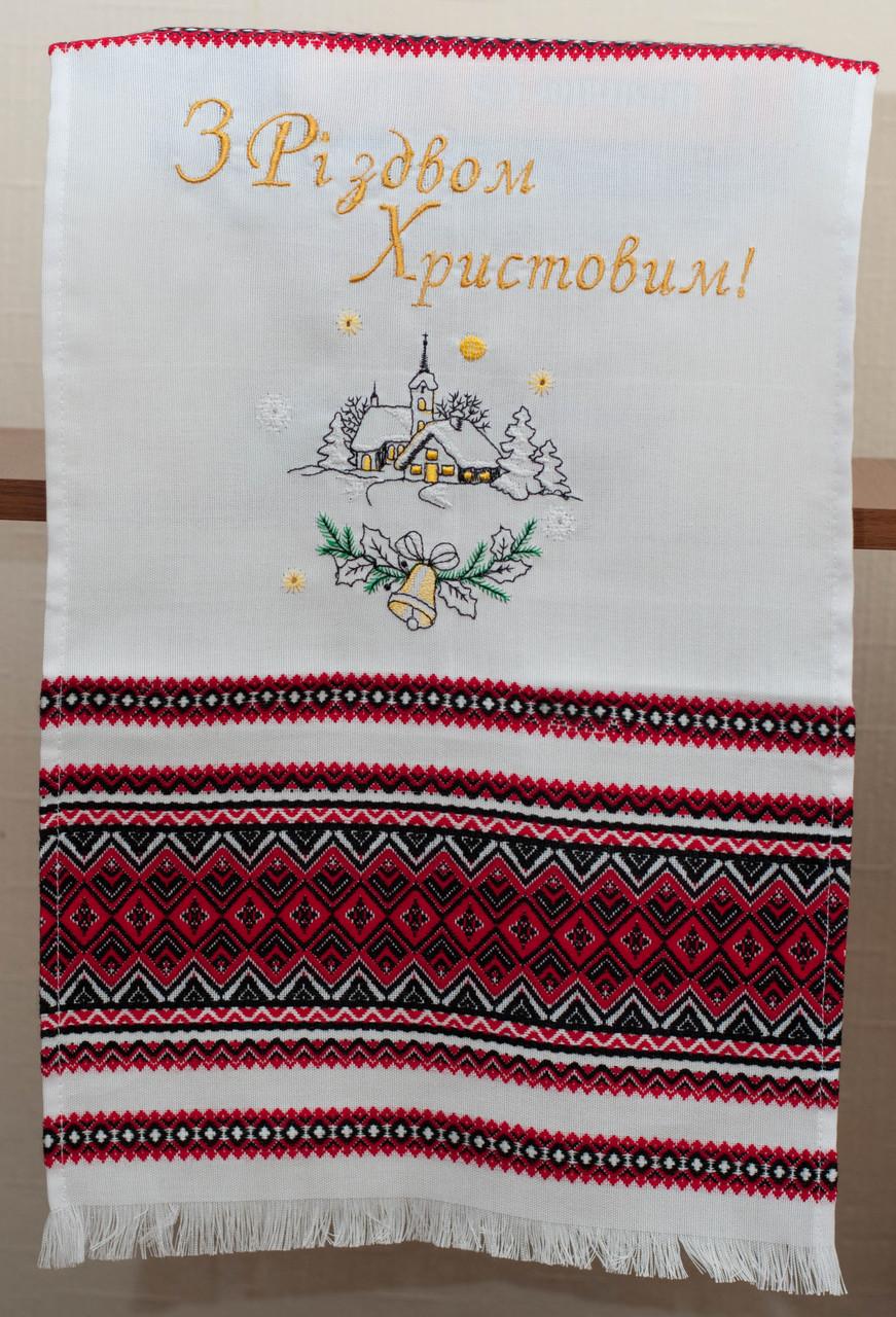 Рождественский рушник 003