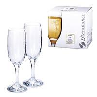 Набор бокалов для шампанского Pasabahce Bistro 6 шт 190 мл