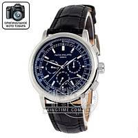Часы Patek Philippe Geneve 0002 black/silver/black