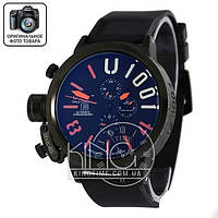 Часы U-boat Italo Fontana black/black/orange