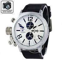 Часы U-boat Italo Fontana silver/white/black