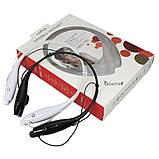 Бездротові навушники Bluetooth Stereo Headset HBS-730 (стерео-гарнітура) Білі, фото 9