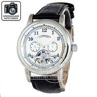 Часы A.Lange & Sohne Glashutte silver/white