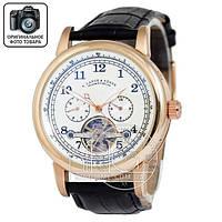 Часы A.Lange & Sohne Glashutte gold/white