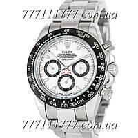 Часы мужские наручные Rolex Cosmograph Daytona AAA Silver-Black-White-Black