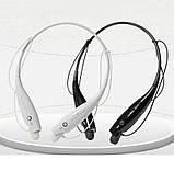 Бездротові навушники Bluetooth Stereo Headset HBS-730 (стерео-гарнітура) Білі, фото 4