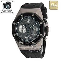 Часы Audemars Piguet Royal Oak GMT Tourbillon Concept black/grey/black AAA