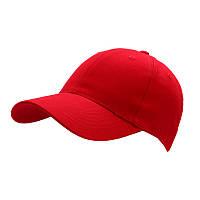Кепка CoFEE POPULAR-4052, красная, от 10 шт