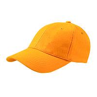 Кепка CoFEE POPULAR-4052, желтая, от 10 шт