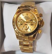 Мужские часы Rolex Daytona Gold, механические часы Ролекс Дайтона качество, реплика, отличное качество!