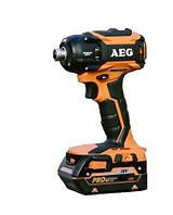 Аккумуляторный бесщеточный гайковерт AEG BSS18OP-402С