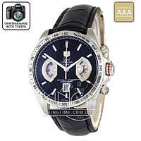 Часы Tag Heuer Grand Carrera Calibre 17 quartz Chronograph silver 3751 AAA