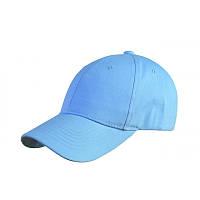 Кепка CoFEE POPULAR-4052, голубая, от 10 шт