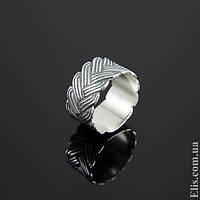Женское серебряное Кольцо Колосок