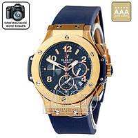 Часы Hublot Big Bang blue/gold/blue 3804 AAA