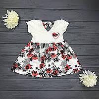Детское Платье для девочек оптом р.3-4,5-6 и 7-8 лет