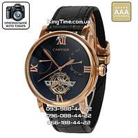 Часы Cartier 3887 Ronde Solo De Cartier black/gold AAA