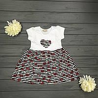 Детское Платье для девочек оптом р.2-4-6 лет