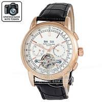 Часы Patek Philippe Geneve Tourbillon 3984 gold/white