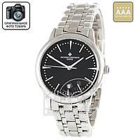 Часы Vacheron Constantin 4031 silver/black AAA