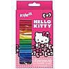 HK17-086 Пластилин восковой (12 цветов, 200 г) KITE 2017 Hello Kitty 086
