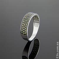 Женское серебряное Кольцо Лучик