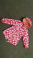 Детский плащик для девочки Цветочек