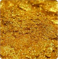Пигмент перламутровый KW-302/5-25 золото 1 кг. Пигмент для мыла, маникюра, декора, смолы,бетона